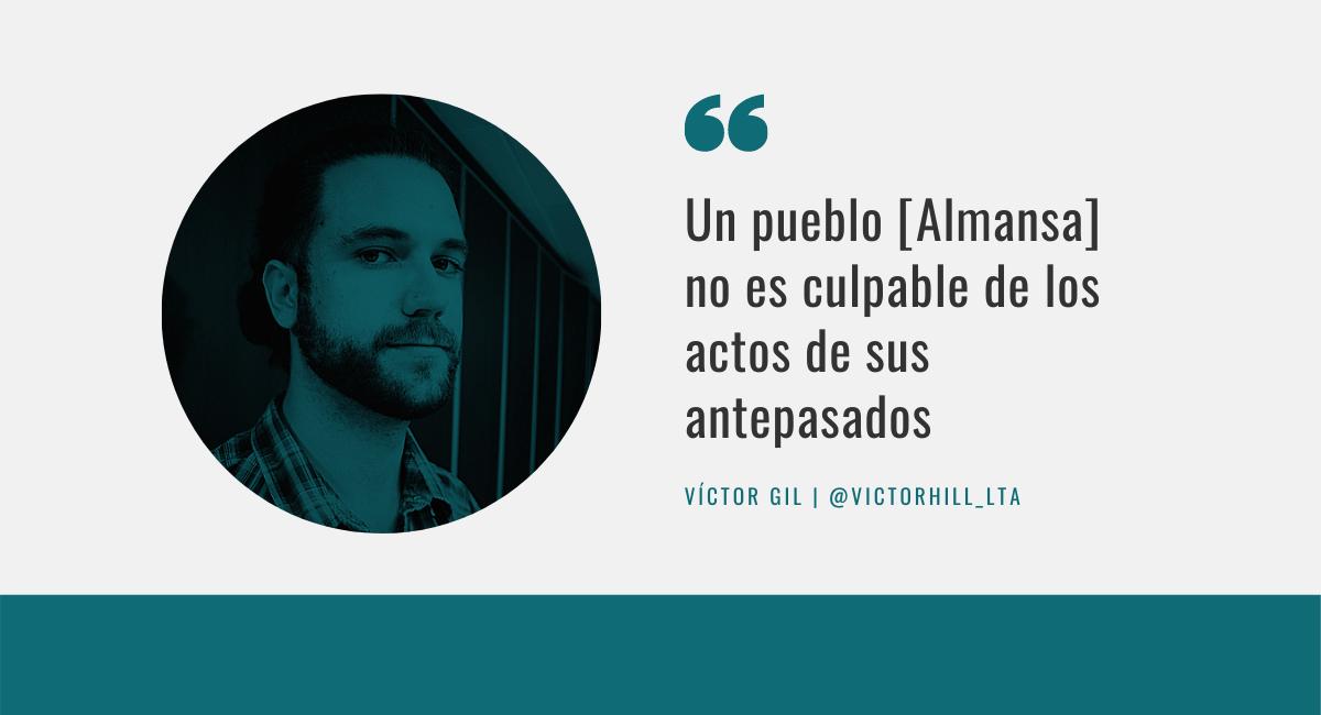 Víctor Gil La Tinta de Almansa
