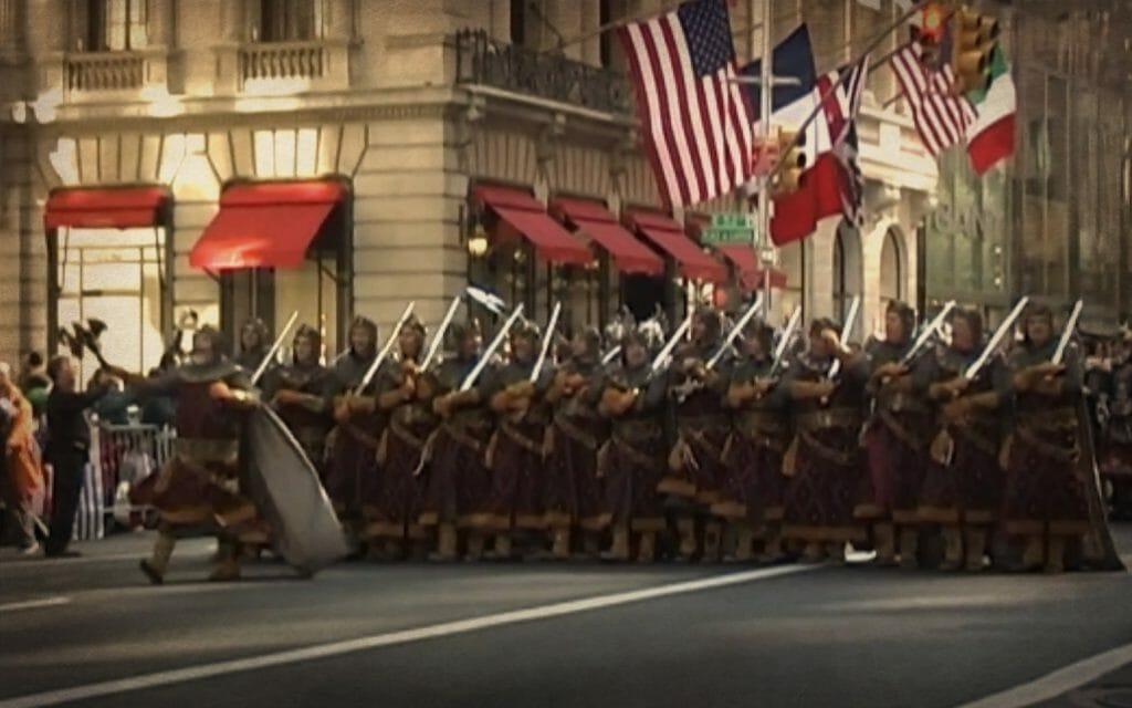 Comparsa cristiana desfila por Nueva York