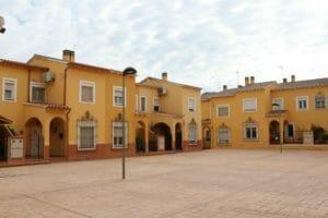 Plaza de Scandiano en Almansa