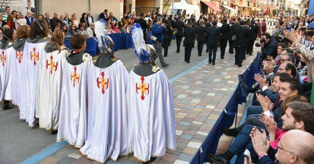 Marcha mora y cristiana en Almansa