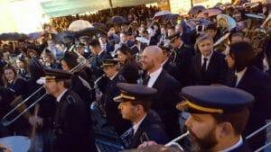 Músicos interpretan marchas moras y cristianas en Alcoy