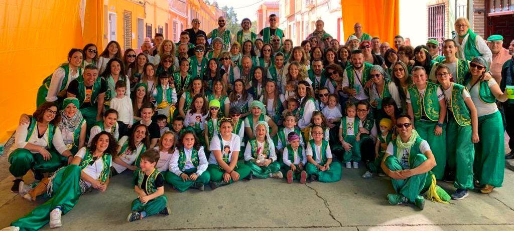 Almanzárabes de las comparsas moras de Almansa