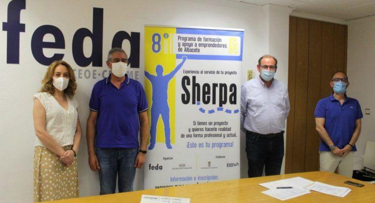 El Ayuntamiento de Almansa presentan el 8º Programa de Apoyo a emprendedores de FEDA Albacete
