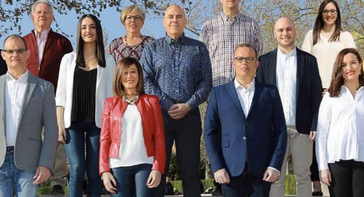 Concejales PSOE Almansa
