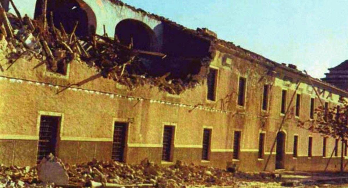 1973 Destrucción de la Fábrica de Calzados Coloma Pedro Esteban Arocas