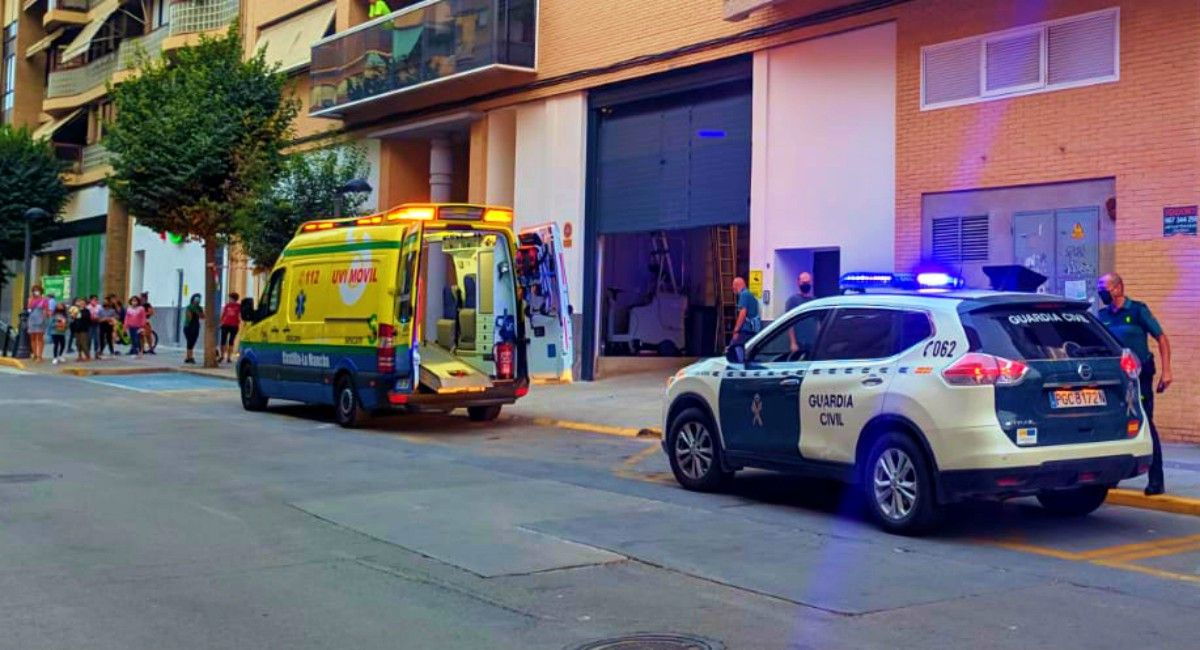 Accidente laboral en un Mercadona de Almansa