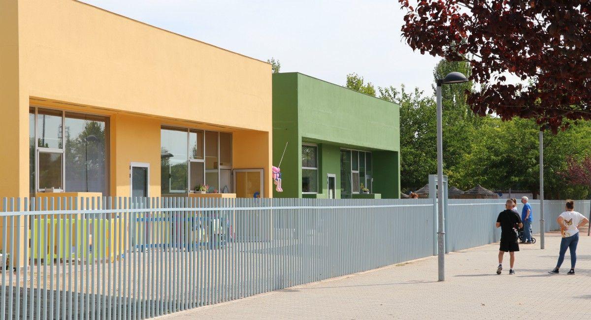 Aula de escuela infantil Almansa confinada