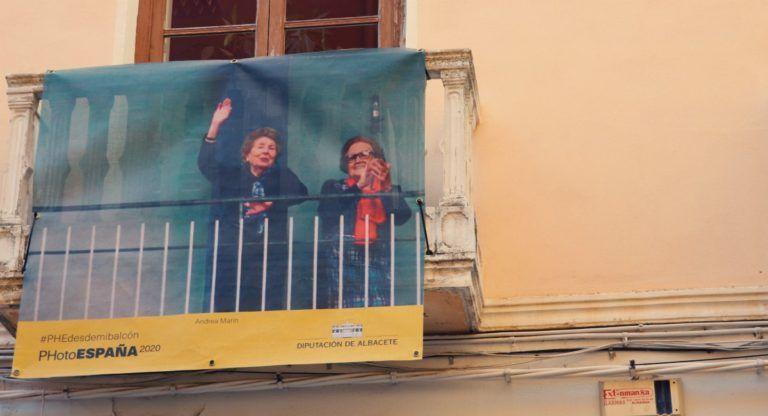 Balconada fotografías balcones Almansa PhotoEspaña