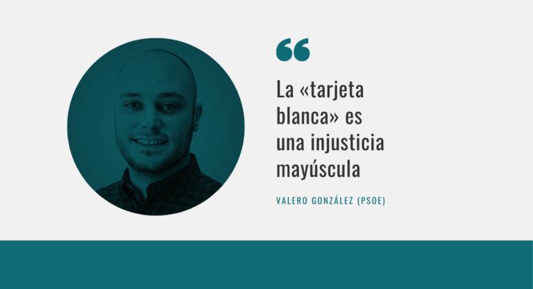 Valero González Tarjeta Blanca