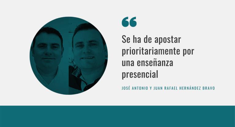 José Antonio Hernández Bravo y Juan Rafael Hernández Bravo Almansa