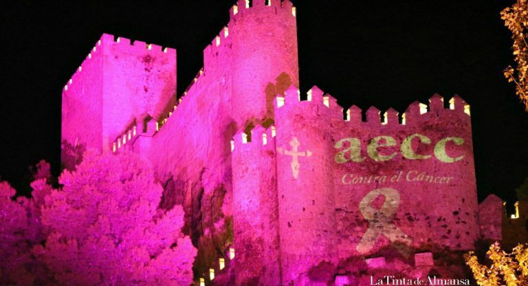 Castillo de Almansa Rosa