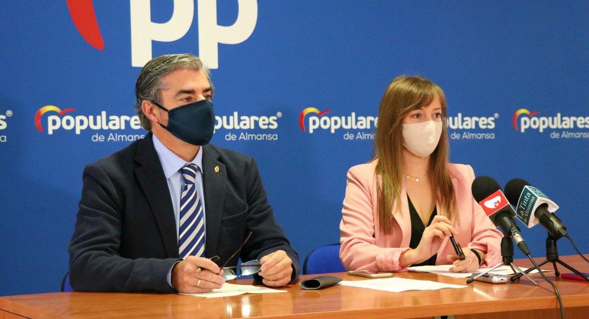 Firmas okupación Almansa, Ramón Rodríguez Tania Andicoberry