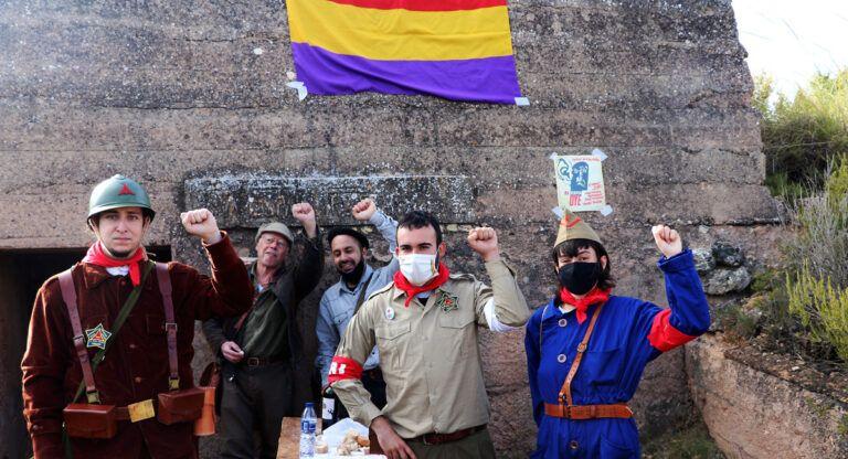 Brigadas Internacionales bunkers almansa