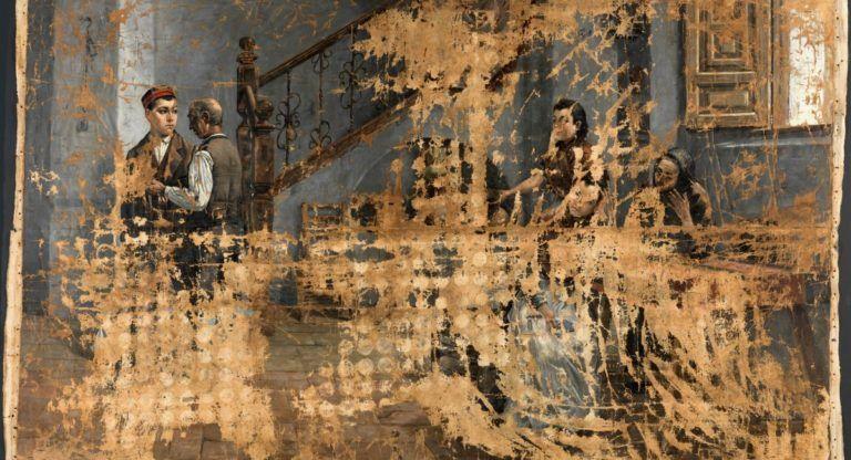 Cuadro Museo del Prado Almanseño Adolfo Sánchez