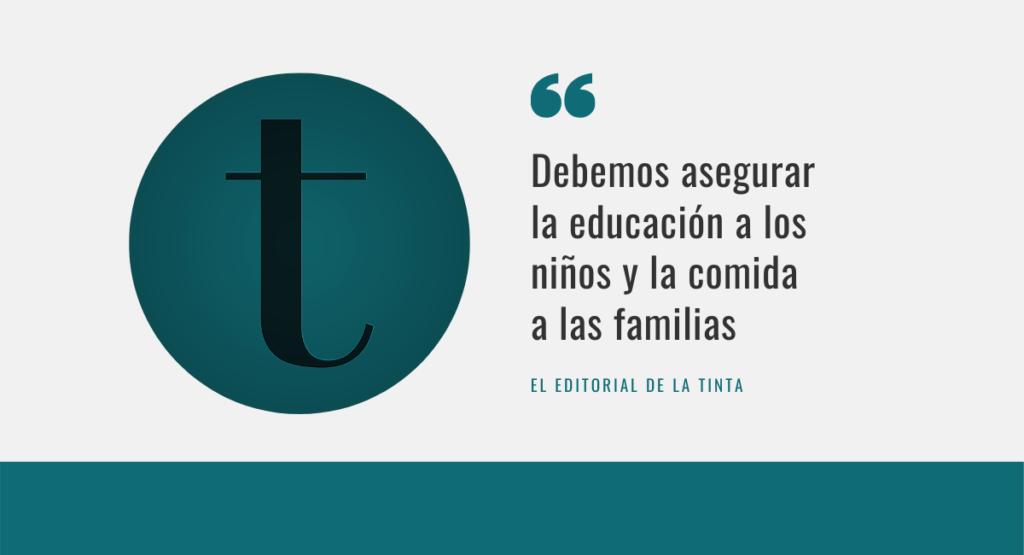 Educación despensa y COVID Almansa