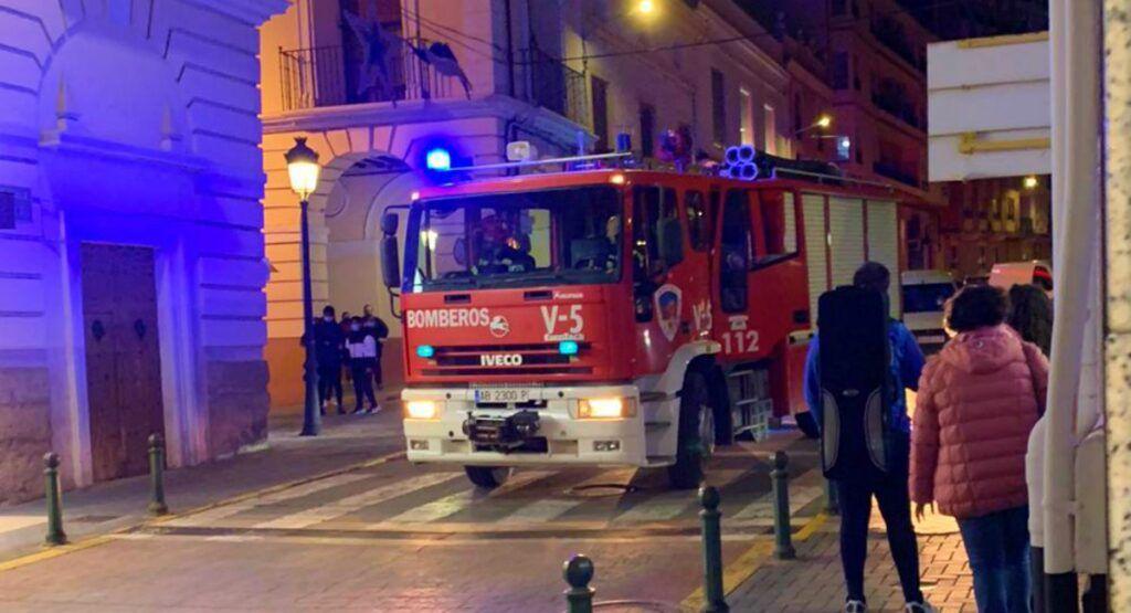 Fuego quiosco Almansa