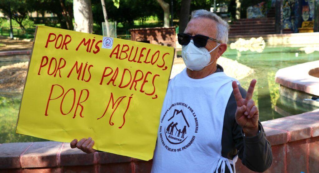 Pensionistas Almansa Pacto Toledo