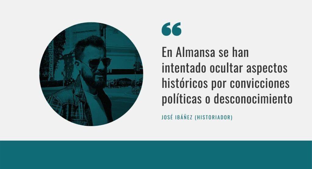 Calles de almansa y memoria José Ibáñez