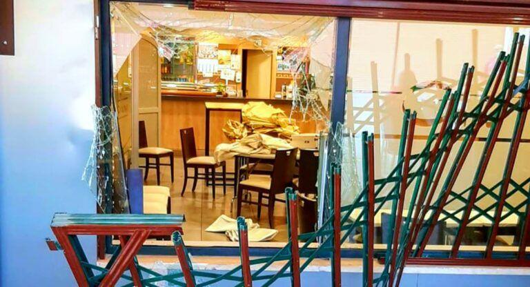 Robo restaurante Almansa