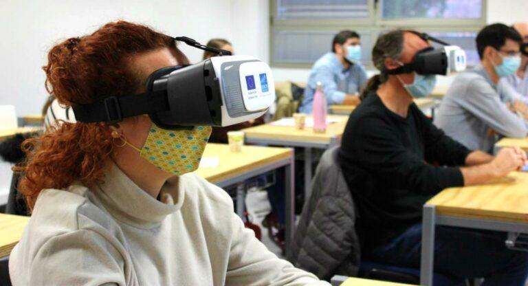 realidad virtual covid