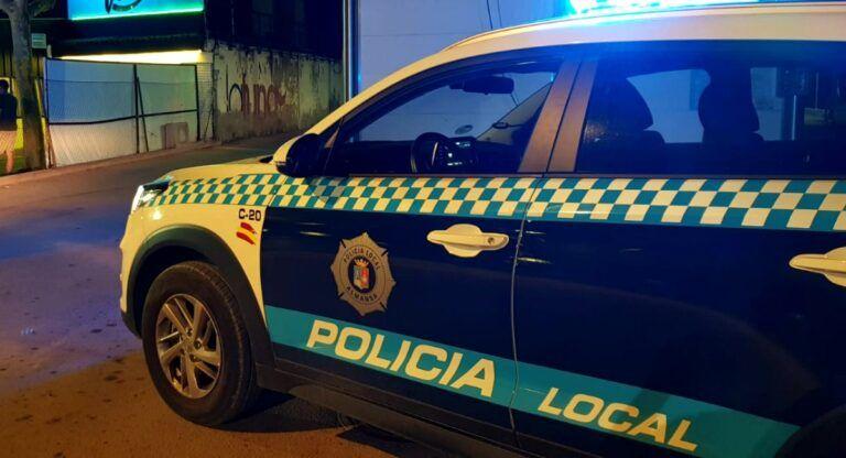policia almansa local nocturno covid
