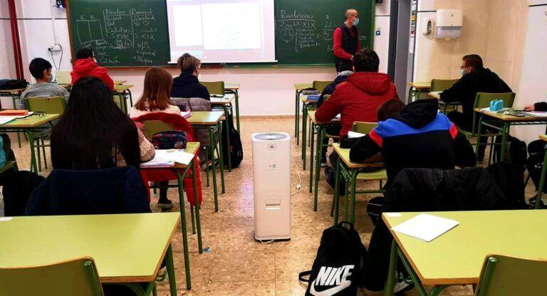 purificadores colegios albacete