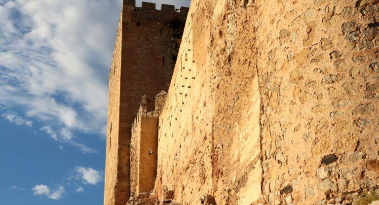 Castillo de Almansa derrumbe