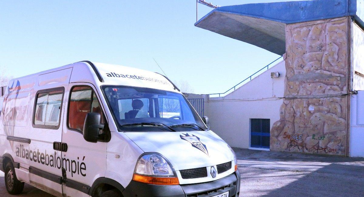 Albacete Balompié en el Paco Simón de Almansa