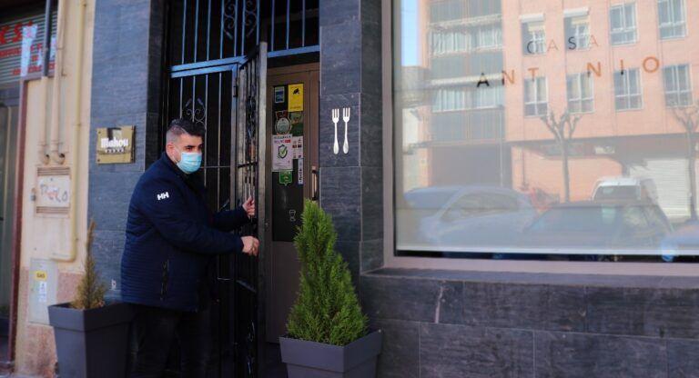 Hostelería en Almansa: cierre total