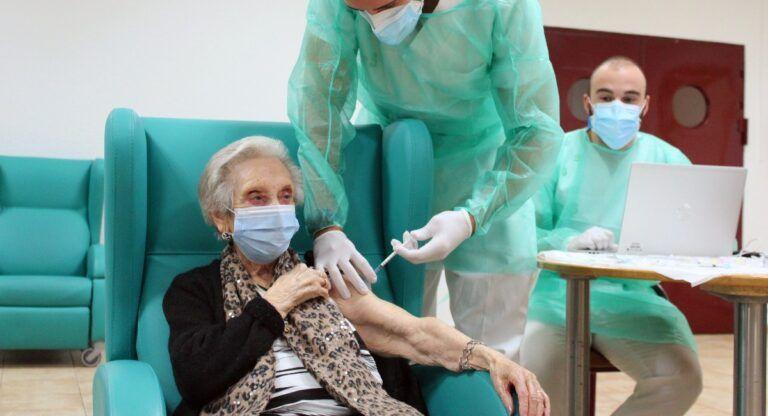Vacunación Covid Almansa