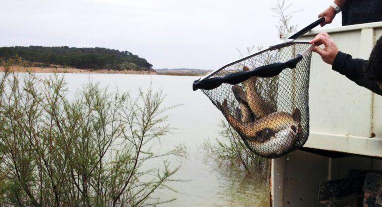 Pesca en el Pantano de Almansa
