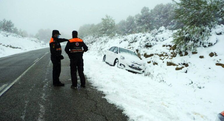 proteccion civil almansa nieve