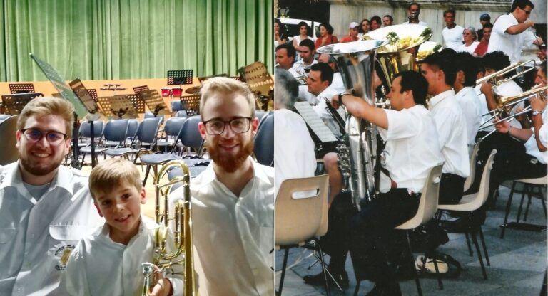 Samuel y Francisco, Unión Musical de Almansa