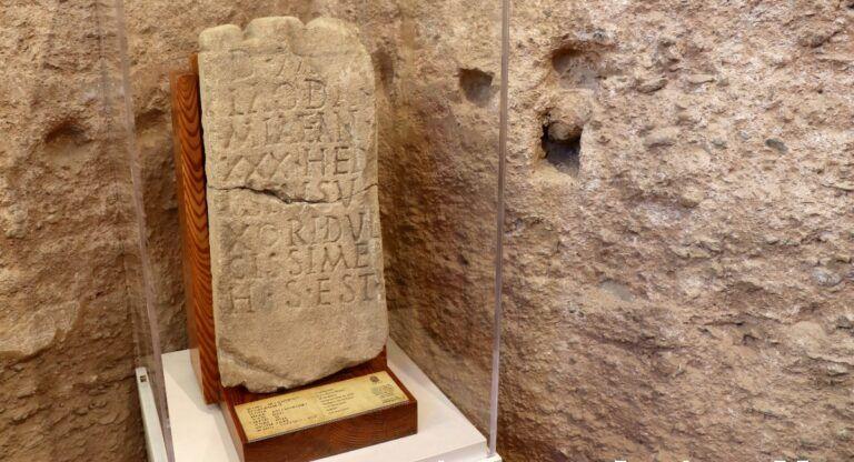 Piezas arqueológicas regresan al Castillo de Almansa
