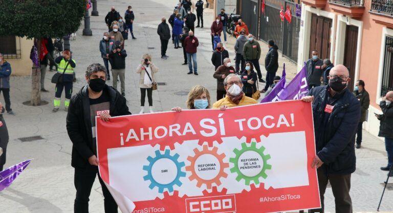 CCOO Manifestación Almansa