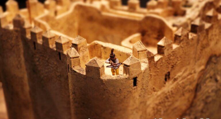 Derrumbe castillo almansa