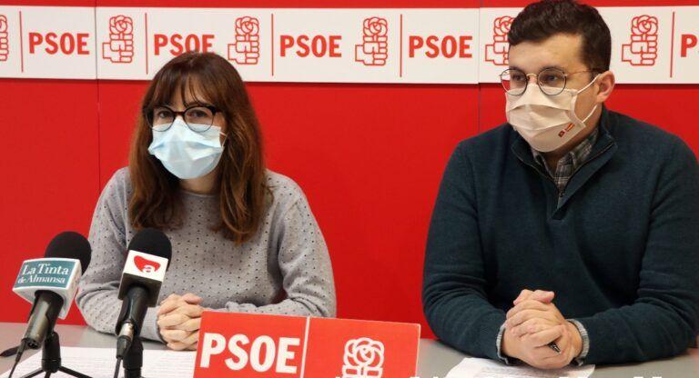 Ayudas para autónomos y pymes, PSOE Almansa