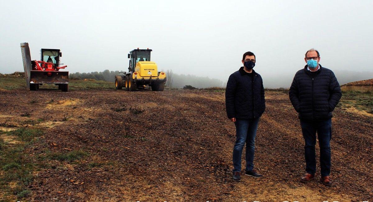 Arreglan los caminos de Almansa tras el paso de Filomena