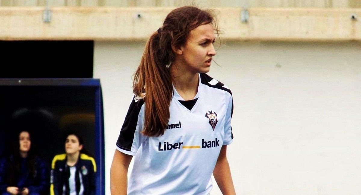 Rocío Costa, futbolista de Almansa