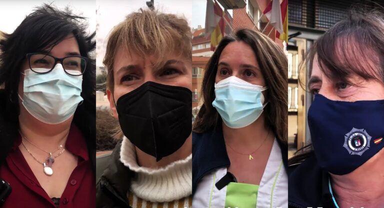 Las mujeres almanseñas que vivieron el Covid en primera línea protagonizan un documental por el 8-M