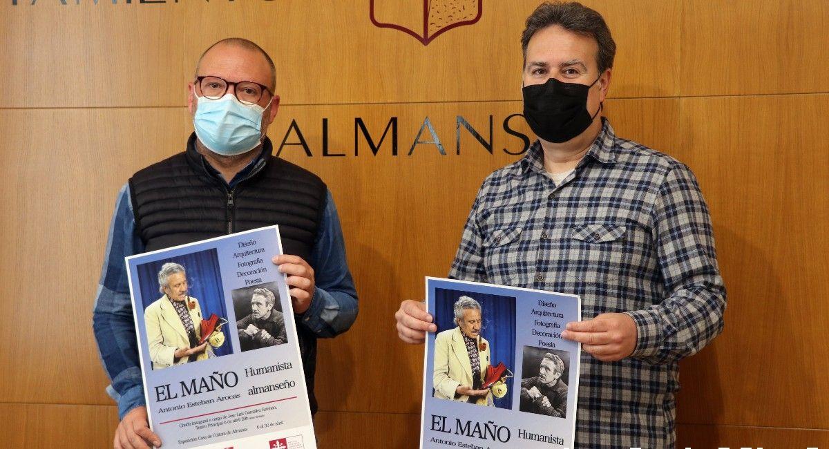 Alfonso Arrarez y Francisco López Almansa