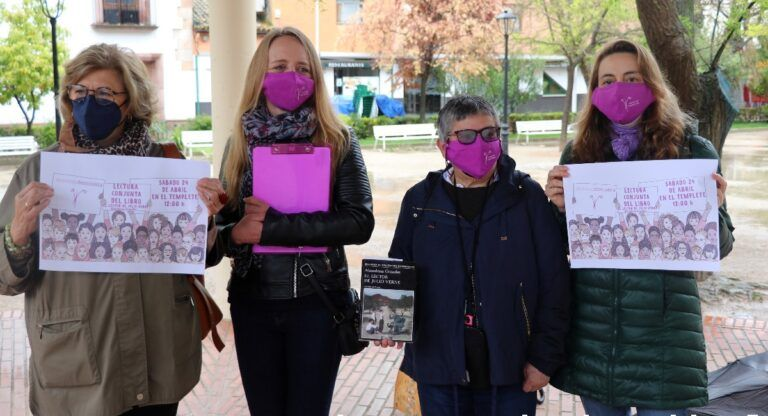 Almansa Feminista dia del libro