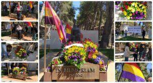 Los familiares de las víctimas de la represión franquista homenajean su recuerdo en un acto emotivo