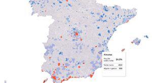 Los habitantes de Almansa destinan el 24% de sus ingresos medios mensuales a pagar el alquiler
