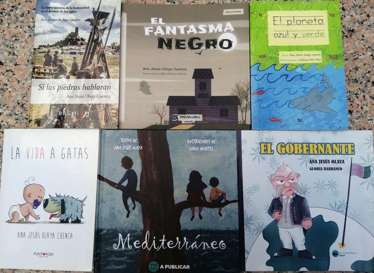Libros de Ana Jesús Olaya