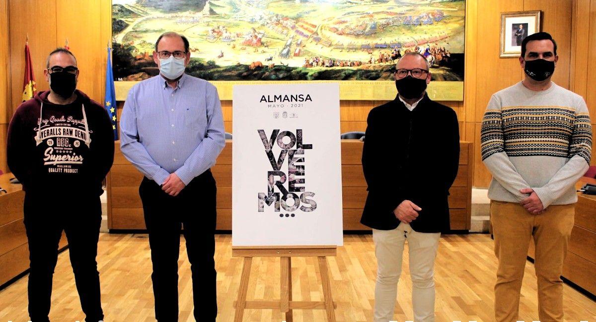 No habrá Fiestas de Mayo en Almansa, pero sí se presenta un programa de actividades