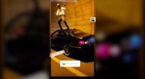 Investiago por bailar sobre su coche y grabarse en Hellín