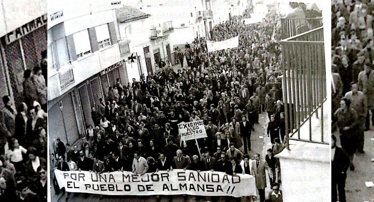 Manifestación Hospital Almansa