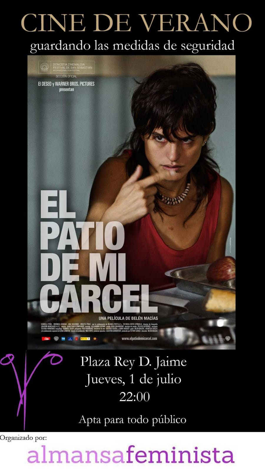 Cine de Verano, Almansa Feminista