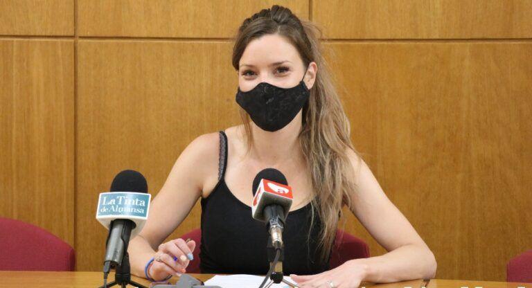 Laura Fernandez IU Almansa